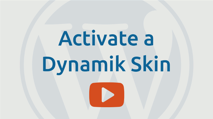 Activate a Dynamik skin