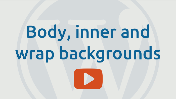 Body inner and wrap backgrounds