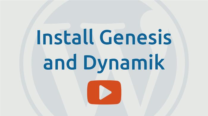 install Dynamik Website Builder