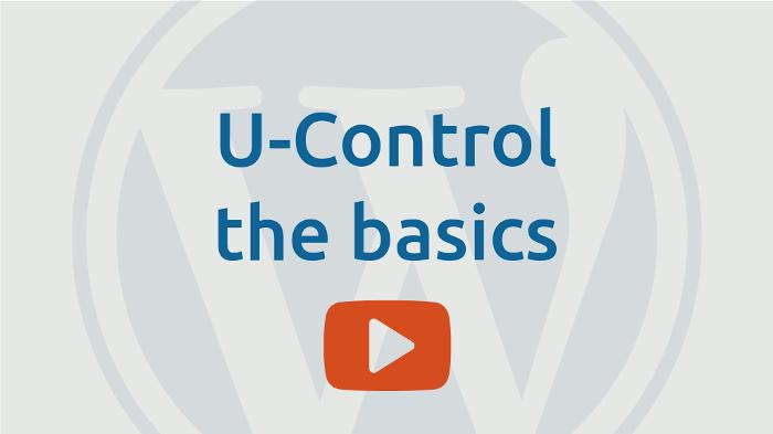 u-control the basics